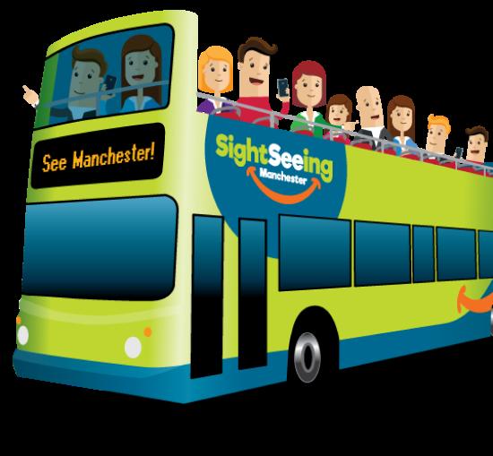 Hop On Hop Off Open Top Bus Tour Manchester Sightseeing Manchester Sightseeing Manchester